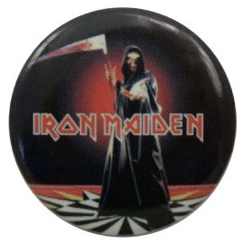 Iron Maiden - 'Dance of Death' Button Badge